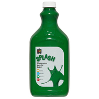 EC Classroom Splash Paint 2 Litre Martian Green
