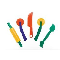 EC Fun Dough Tools Assorted Pkt5