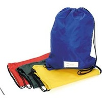 EC Gym Bags 330x440mm Red