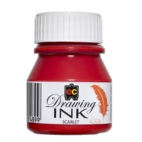 EC Drawing Ink I30SC 30ml Scarlet