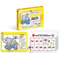 Learning Can Be Fun Beat The Elephant Bingo Blending Consonants