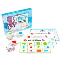 Learning Can Be Fun Game Beat the Octopus Bingo Colour & Shape Recognition