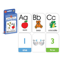 Learning Can Be Fun Flashcards Alphabet & Numbers 1-10