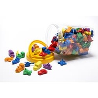 Learning Can Be Fun Transport Counters Jar 72