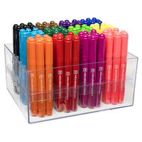 EC Coloured Master Markers MMMC96 Jumbo Broad Assorted Classroom Pack