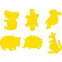 EC Paint Stamper Australian Animals Set 6
