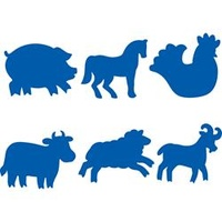EC Paint Stamper Farm Animals Set 6