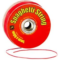 EC Spaghetti String 1mm X 60mt Red