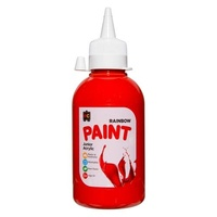 EC Rainbow Paint 250ml Brilliant Red