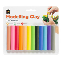 EC Fun Clay Assorted Colours 12s