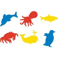 EC Stencil Sea Life 190x190mm 6s