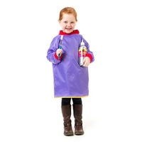 EC Art Smock Toddler Years 2 - 4 Purple