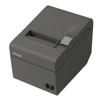 EPSON TM-T20 Thermal Receipt Printer - Built-in Ethernet Dark Grey On-Counter Compact  Built-in Power Supply With AC cable