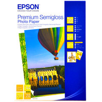 Epson Premium Semi Gloss Photo Paper A4 250gsm 20 Sheets S041332