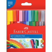 Faber-Castell Connector Markers 12s