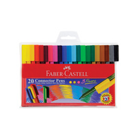Faber-Castell Connector Markers 20s