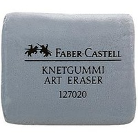Faber-Castell Erasers - Kneadable Grey Phthalate Free