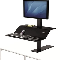Fellowes Lotus™ VE Sit-Stand Workstation Single