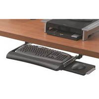 Fellowes Keyboard Drawer Under Desk With Mouse Tray