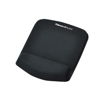 Fellowes Plushtouch Mouse Pad/Wrist Rest Graphite