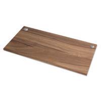 Fellowes Levado Worktop Only Walnut 1400mm X 800mm
