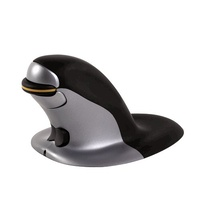Fellowes Penguin Ambidextrous Vertical Mouse Wireless Medium