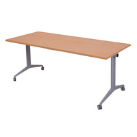 Budget Flip Top Table 1500x750mm Beech