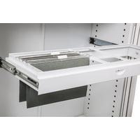 Go Roll Out File Frame To Suit 1200mm Tambour Door Unit White
