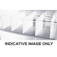 Go Shelf Divider White Pack of 5 Use With GG09SLOT Or GG12SLOT