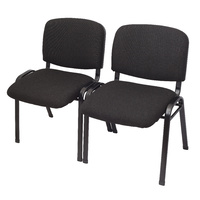 Nova Fabric 4 Leg Visitor Chairs With Linking Feature