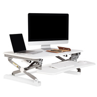 Rapid Riser Medium Desk Based Sit / Stand 890 X 590 - White