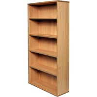 Rapid Span Bookcase 1800H X 900W X 315D Beech