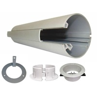 RAPID POWER POLE - 2.1m Ceiling Coverplate
