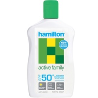 Sunscreen Hamilton - 125ml, Active Family Lotion