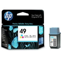 Hp 49 Colour Ink Cartridge 51649AA