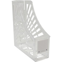 Italplast Magazine Holder Clear