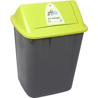 Italplast Waste Separation Bin - Co Mingle 32Lt Yellow