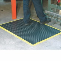 Italplast Bubble Mat - 1200X900mm Black Yellow