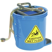 Italplast Mop Bucket - Heavy Duty 16Ltr Blue
