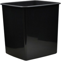 Italplastgreenr Desk Access - Tidy Bin 15Ltr Black Recycled