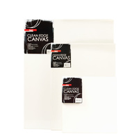 "Jasart Canvas Thin Edge 4 X 4"" 102 X 102mm White"