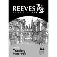Reeves Tracing Paper A4 65gsm 25 Sheets