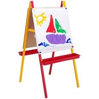 JASART CHILDRENS COLOUR EASEL - Includes 2 trays + 15 Paper Roll 63cm X 121cm