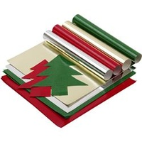 JASART CHRISTMAS PAPER Assorted 254x254mm Sheets 100pk