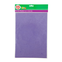 Educraft Felt Sheets Assorted Peel N Stick Pk2