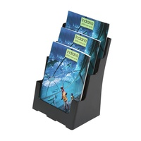 Deflecto Sustainable Office 3 Tier A4 Brochure Holder