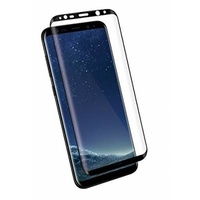 Kanex EdgeGlass  Edge-to-Edge Glass Screen Protector for Galaxy S8 - Black