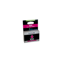 Lexmark 100 Magenta Ink Cartridge