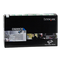 Lexmark C5220CS Cyan Prebate Cartridge