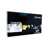 Lexmark C734 Yellow Toner Cartridge